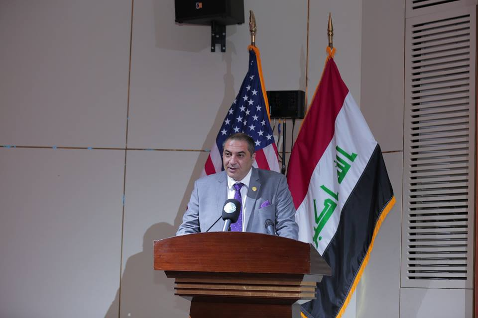 Iraq is looking for investment opportunities and boosting trade with America US.Chamber-IRAQ_04