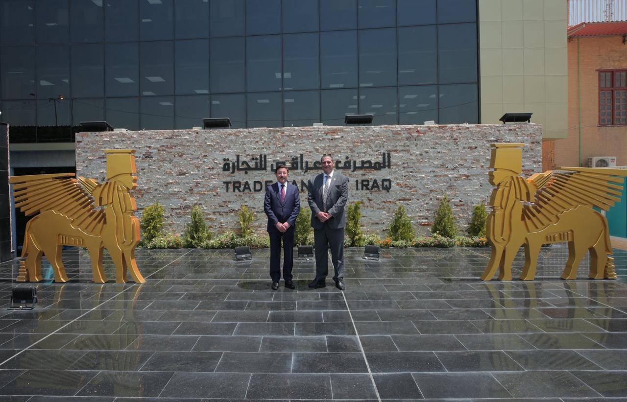 HE the Governor of the Central Bank of Iraq, Dr. Ali Al-Aalak, visited the building of the new public administration of the Iraqi Bank for Trade (TBI) CBI-Head_02