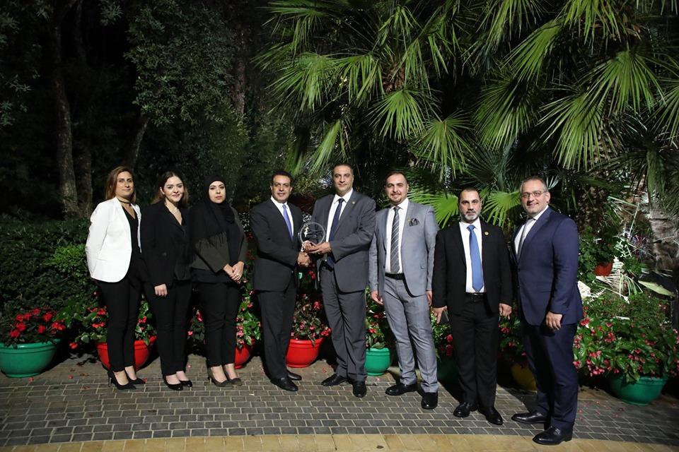 """JP Morgan"" awards the Iraqi Trade Bank Award for Excellence in direct transfers JPMorgan-STP-Award"