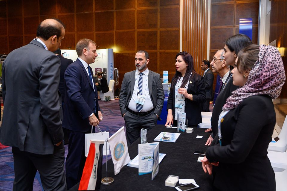 "The Trade Bank of Iraq presents investment opportunities in Iraq during its participation in the ""Global Trade Review GTR"" Summit for Trade Finance 2020 GTR2020_03"